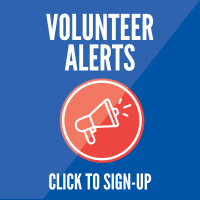 Volunteer Alerts. Click here to sign up